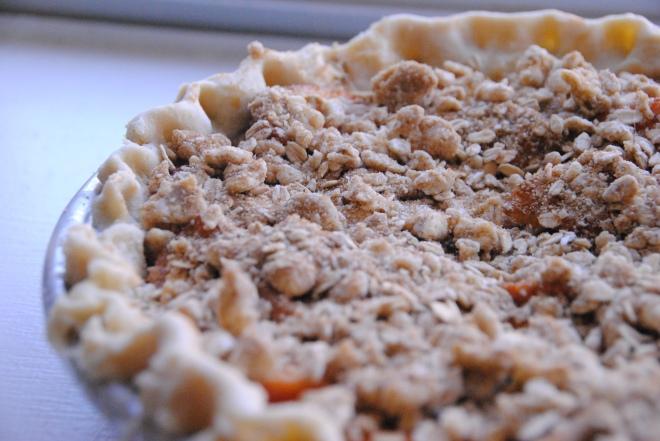 Peach Crumble Pie (53)