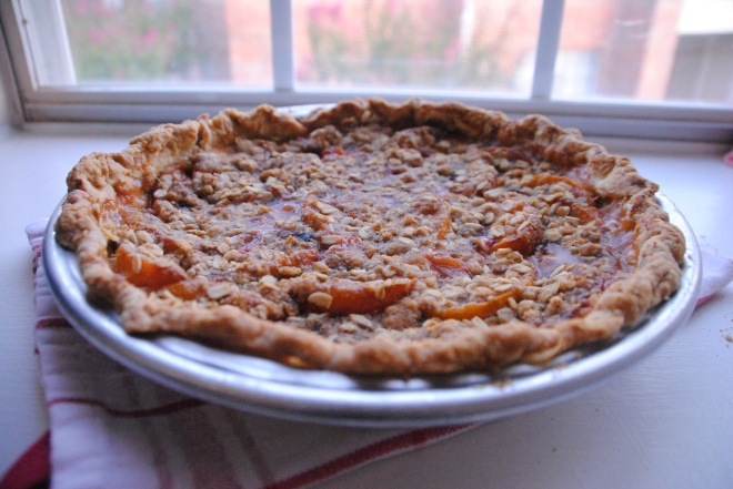 Quintessential Pie on the Window Sill